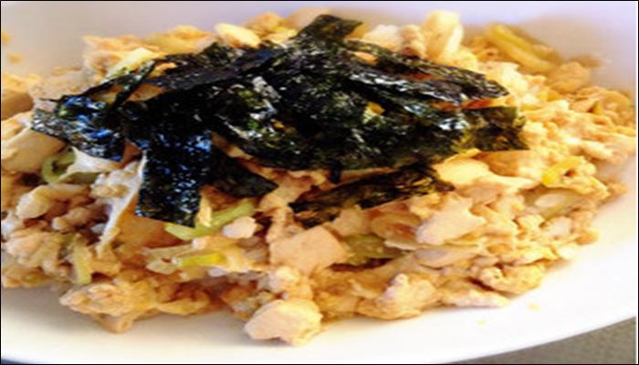 丼もの レシピ 簡単 豆腐たまご丼