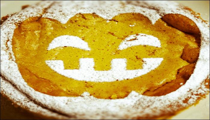 ハロウィン お菓子レシピ パンプキンチーズケーキ