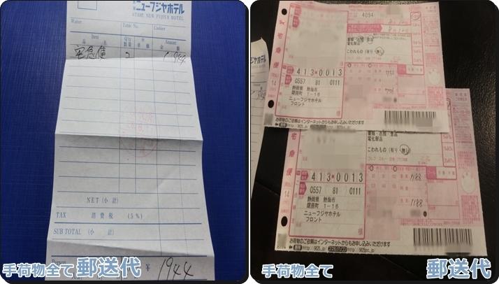 熱海旅行 予算 費用 荷物郵送代