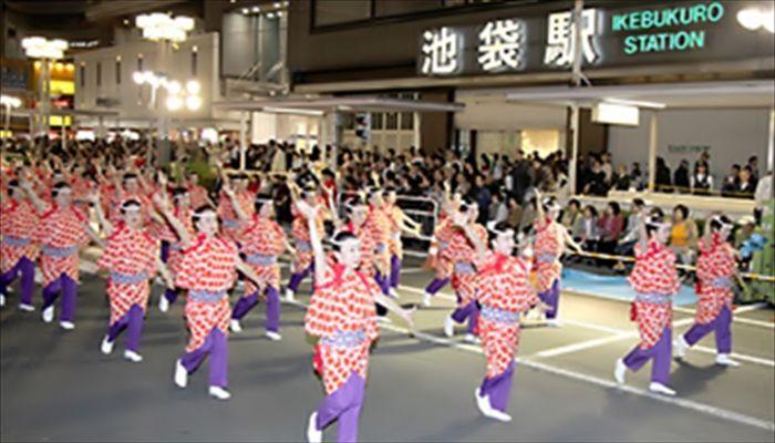 秋にすること 東京よさこい祭りへ遊びに行く