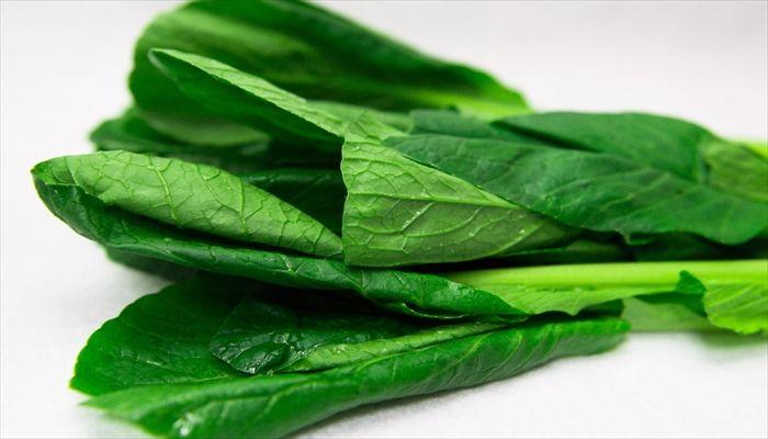 葉野菜 保存 小松菜