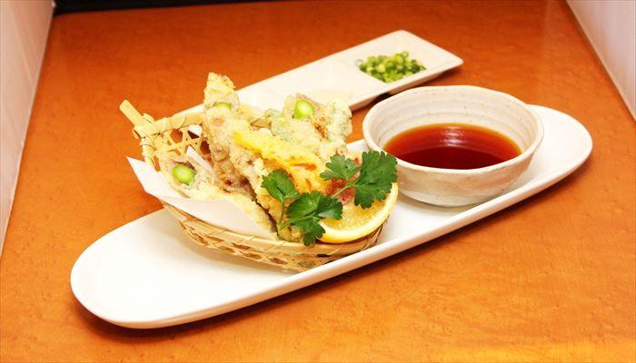 冬 料理 天ぷら