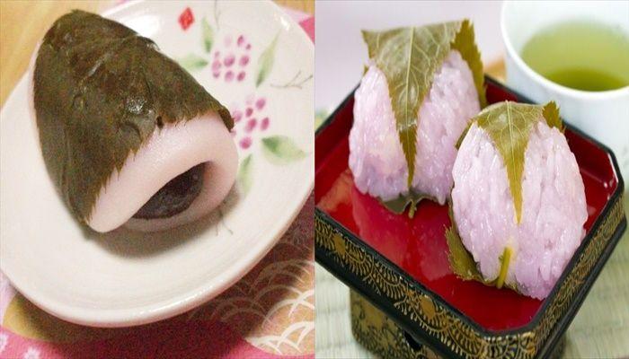 春 料理 桜餅