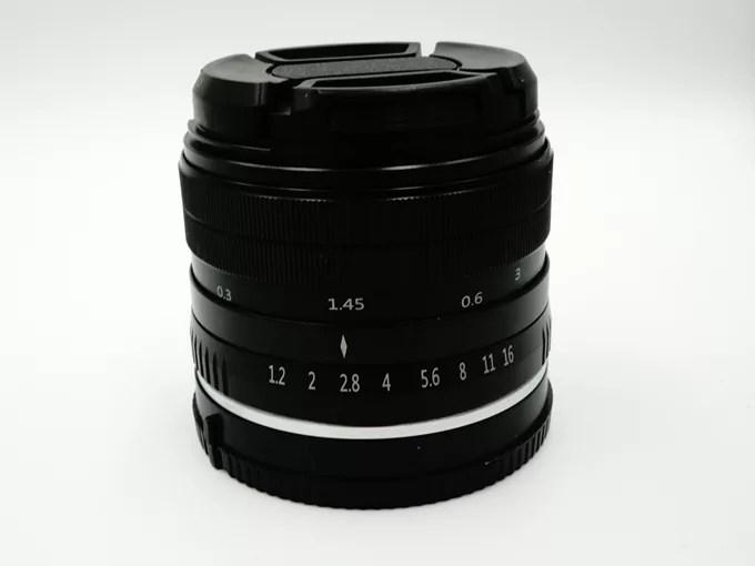 35mm f1.2レンズ