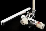 デッキタイプサーモスタットシャワー水栓