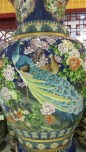 5' Cloisonné vase