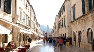 The Stradun...the main street in Dubrovnik