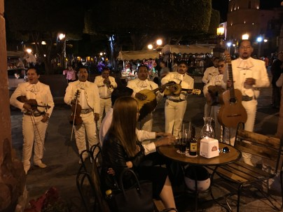 One of many mariachi groups