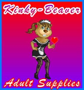 Kinky-Beaver Logo 375 x 375 px Visitor Homepage Navigation Information Support text-Image Logo Banner