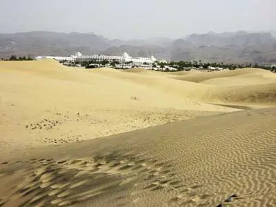 The stunning dunes at Maspalomas. Great for kinky BDSM and outdoor fkk naturist swingers fun