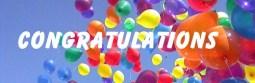 Congratulations & Balloons
