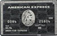 Black American Express Card