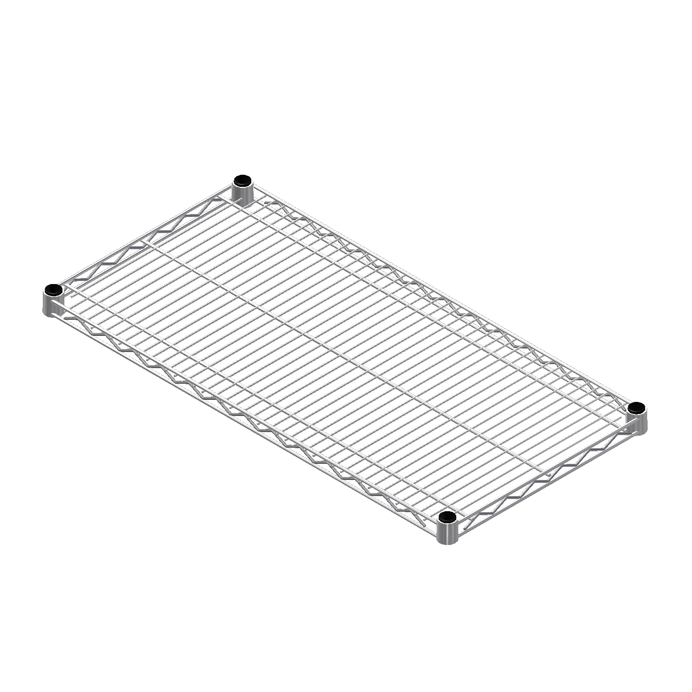 24 X 48 Heavy Duty Metal Wire Shelf