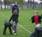 Rugby training Health Week