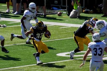 Jordan Canzeri on his touchdown run