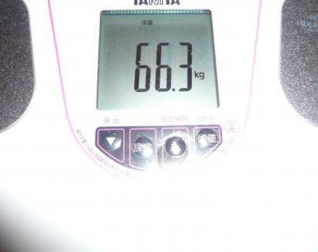 トマトジュースダイエット記録6日目の体重は