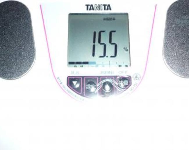 トマトジュースダイエット記録19日目の体脂肪