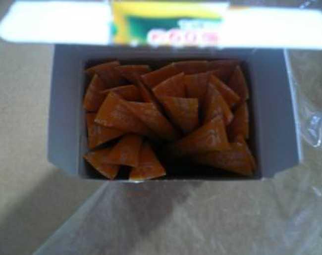 ビタミンCスティックの箱を開けたところ