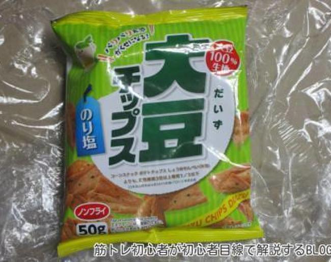 テックスインターナショナル 大豆チップス のり塩味50g