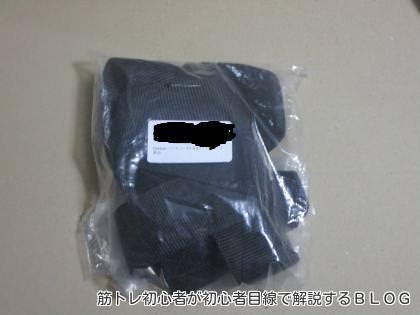 袋に入ったヘッドハーネスの写真
