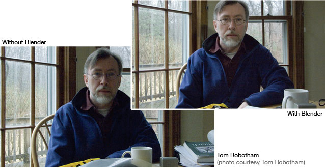 Tom Robotham, Blender LED Light