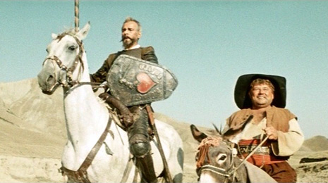 A still from Grigorii Kozintsev's late 50s adaptation of Don Quixote. Source: kino-kartiny.ru