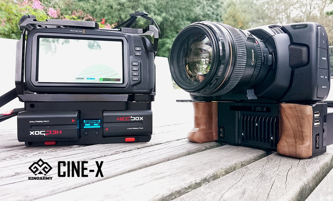 CINE-X battery grip