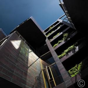 Green Balconies - Tietgenkollegiet Housing - Copenhagen, Lundgaard & Tranberg architects 2005 © Prosper Jerominus 2018
