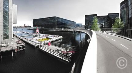 Public Swimming Pool - Havnebadet Fisketorvet Copenhagen, Denmark © Prosper Jerominus 2018