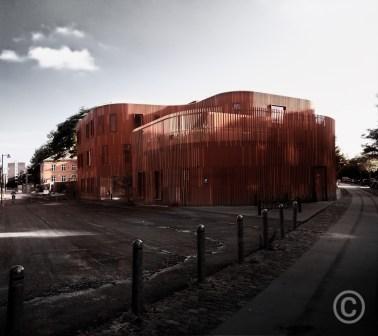 Nursery House – Nørrebro Copenhagen (color) Forfatterhuset Kindergarten COBE architects, 2014 © Prosper Jerominus 2018