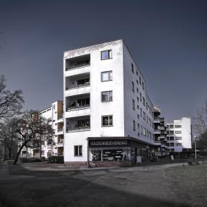 The Ring - Siemensstadt Heritage Berlin Mackeritzstrasse Ensemble Hans Scharoun architect - 1929-1931 -2 © Prosper Jerominus 2018
