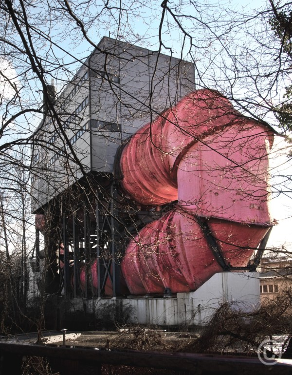 Tub Rosa Roehre - Berlin Caviation tunnels (water tunnels) Ludwig Leo architect - 1967-74 © Prosper Jerominus 2018