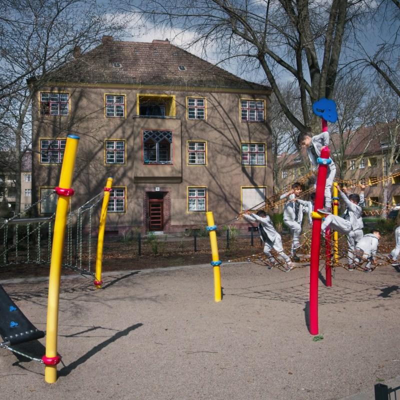 Housing Breitkopfbecken Breitkopfstraße, Spielptatz Siedlung Paddenpuhl, Berlin Fritz Beyer, Diekmann und Scherer (1927-1939) © Prosper Jerominus 2018