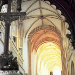 Right Penchant Cathedral of Saint Corentin of Quimper, Cournouaille, France © Prosper Jerominus 1999