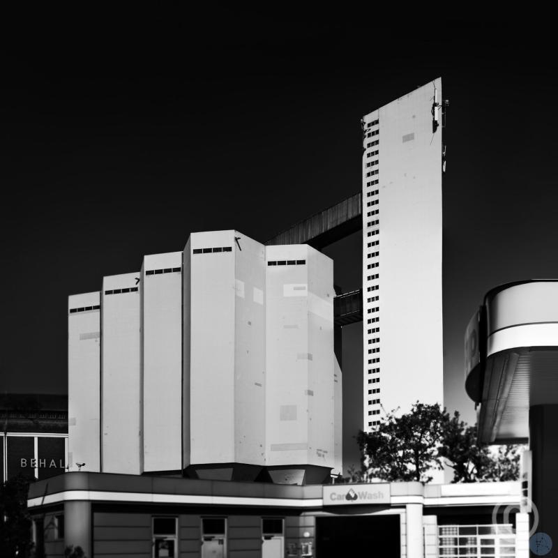 Cement handling facility - Silos Berlin Harbour - Behala Westhafen