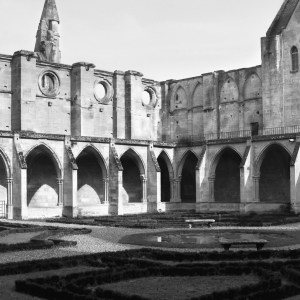 Senlis Abbey, France Patio