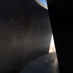 Berlin Junction Eerie passage - Memorial for Third Reich victims of Aktion T4 - Richard Serra (1938-)