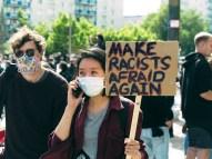 Make Racists Afraid Again - Black Lives Matter - Berlin Demonstration