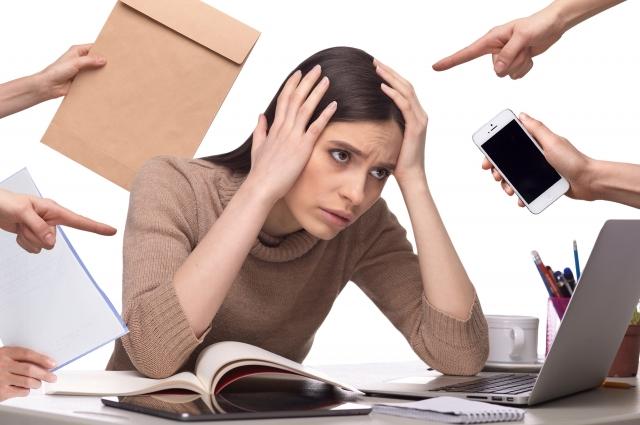 緊張型頭痛が起きる人の身体的特徴