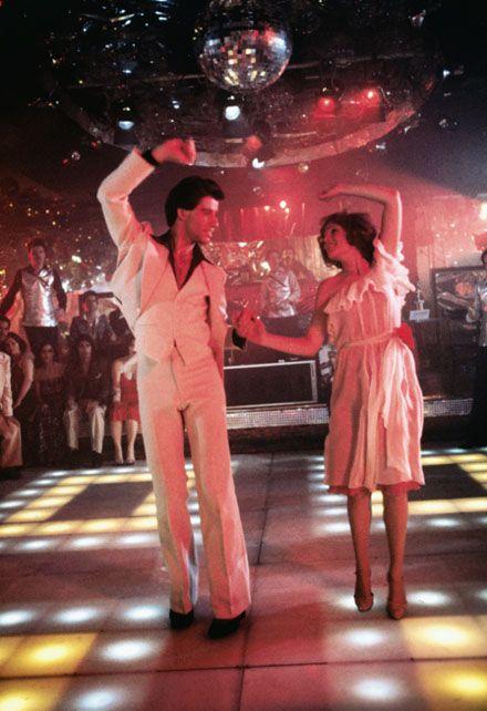 John Travolta jako Tony Manero - gorączka sobotniej nocy