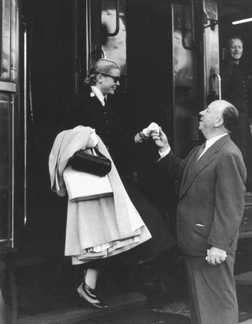 Grace Kelly iAlfred Hitchcock nakręcili wspólnie trzy filmy.