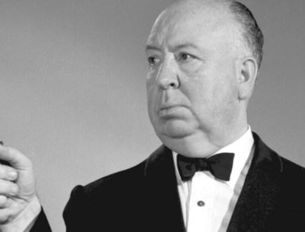 Promocyjne zdjęcie Alfreda Hitchcocka, rok 1962. Łącznie reżyser nakręcił ponad 50 filmów.