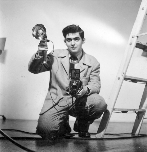 Młody Stanley Kubrick iselfie dolusterka