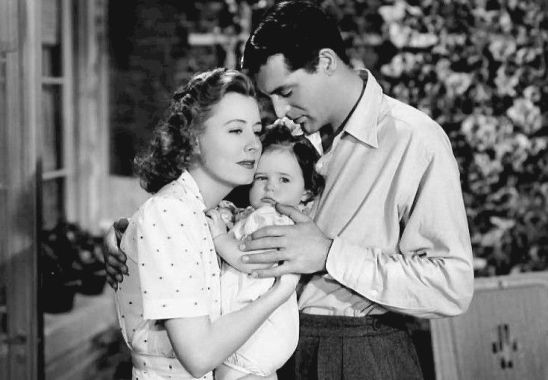 Cary Grant iIrene Dunne wfilmie Ich dziecko