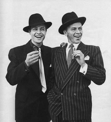 Marlon Brando iFrank Sinatra naplanie Faceci iLaleczki.