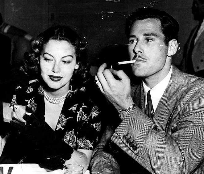Ava Gardner iHoward Hughes