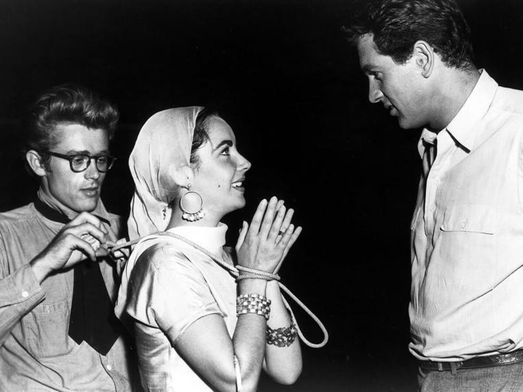 James Dean, Elizabeth Taylor iRock Hudson naplanie Olbrzyma