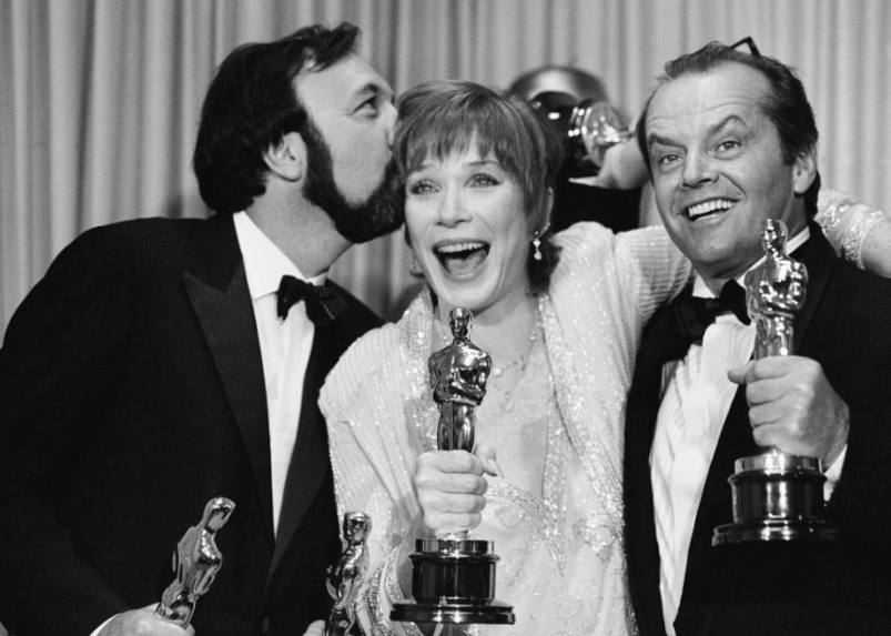 James Brooks, Shirley MacLaine iJack Nicholson zOscarami.
