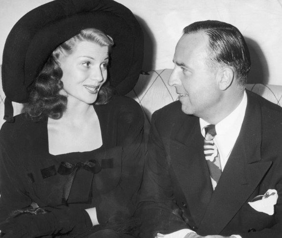 Rita Hayworth zpierwszym mężem, Edem Hudsonem