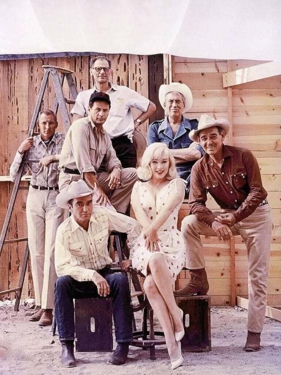 Montgomery Clift, Marilyn Monroe iClark Gable naplanie filmu Skłóceni zżyciem